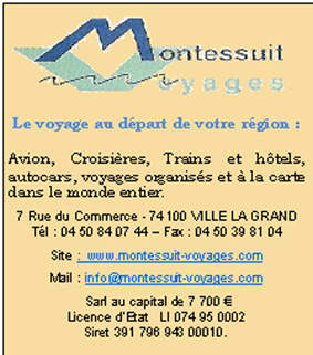 Montessuit Voyages Ville-la-Grand